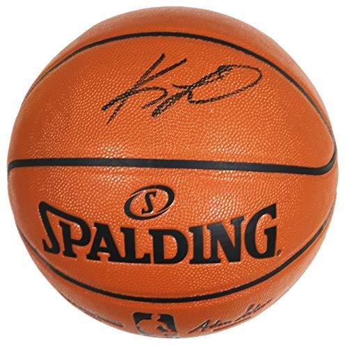 Kawhi Leonard Los Angeles Clippers Signed Autographed Spalding NBA Game Ball Series Basketball PAAS COA