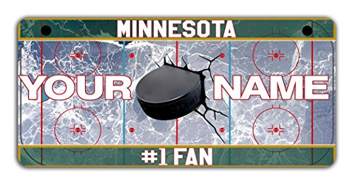 (BRGiftShop Personalize Your Own Hockey Team Minnesota Bicycle Bike Stroller Children's Toy Car 3