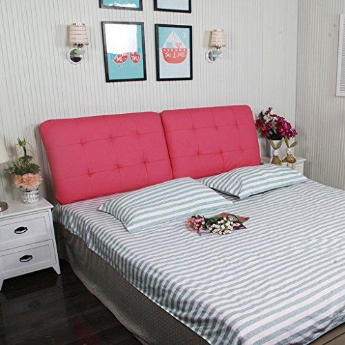 Soft Doble Pillow 60 Almohada Cushion Cama Bed Respaldo Bedless Cuero La Cap 160 Cabeza De YpTq5g