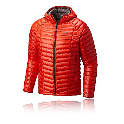 Mountain Hardwear Ghost Whisperer Hooded Down Jacket - AW17 - Medium - Red
