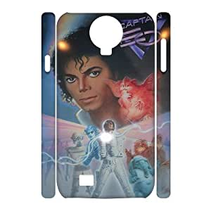 C-EUR Cell phone case Michael Jackson Hard 3D Case For Samsung Galaxy S4 i9500