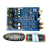 AK4497 DAC Decoder Board Excluding AK4497 chip and XMOS U8