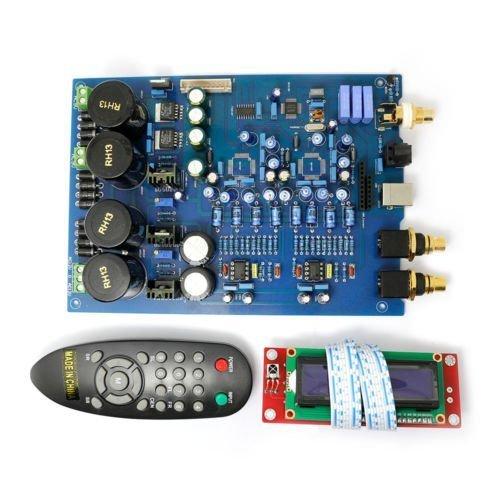 AK4497 DAC Decoder Board Excluding AK4497 chip and XMOS U8 by Jolooyo