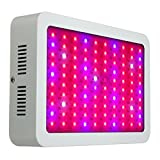 Jeteven 1000W LED Plant Growing Lights Lamp Bulbs Kit Full Spectrum for Garden Indoor Greenhouse Hydroponic Grow