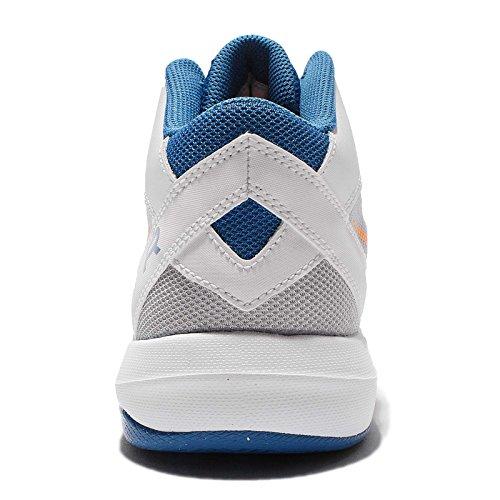 Nike Mens La Scarpa Da Basket Ix Overplay Aria Bianca / Agrumi Luminoso / Stella Blu