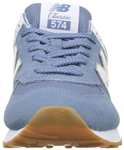Porcelain Sneaker New Blu Blue Light Balance Donna Wl574v2 pqqwvxSErY