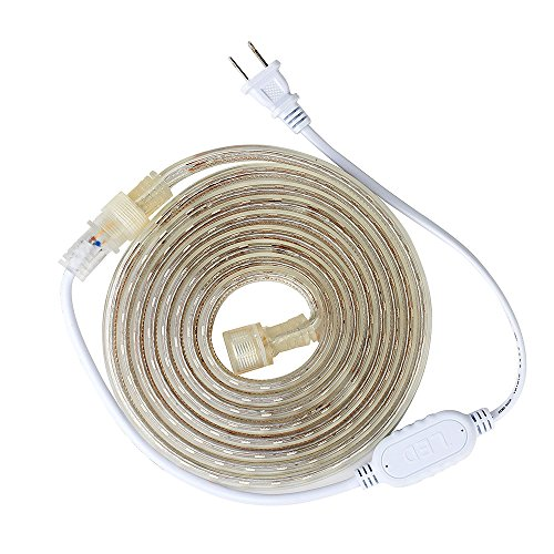 SUPERNIGHT 3m 5050SMD 110V High Voltage LED Strip Light Outdoor LED Rope Light IP67 Waterproof ...