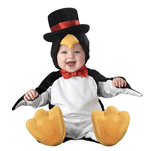 Cute Infant Toddler Penguin Costume Baby Bodysuit Festival Clothing (X Large(24-30 Months)) (Woody Halloween Costume 2t)