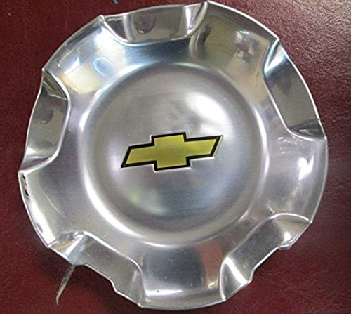 1pc of 20 Inch Chevy 6 Lug Polished Aluminum Center Cap Hubcap Wheel Cover 2007-2014# 9595152 or 9596007 5308 Silverado Suburban Tahoe Avalanche 1500 Pickup Truck SUV