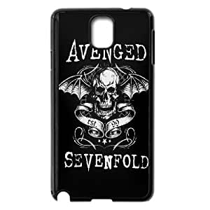 Samsung Galaxy Note 3 Cell Phone Case Black Avenged Sevenfold qxkl