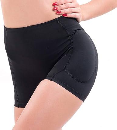 Ypnrd Women Shapewear Seamless Butt Lifter Padded Panties Underwear,XXXXL Black