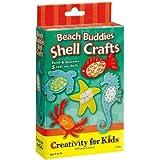 Faber-Castell Creativity For Kids Activity Kit: Beach Buddies Shell Crafts Mini