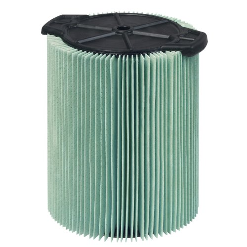 WORKSHOP Wet Dry Vacuum Filters WS23200F HEPA Media Filter For Shop Vacuum Cleaner (Single HEPA Media Filter For Wet Dry Vacuum Cleaner) Fits WORKSHOP 5-Gallon to 16-Gallon Shop Vacuum Cleaners -
