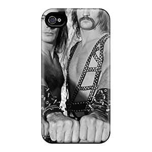 Scratch Resistant Hard Phone Case For Iphone 4/4s With Unique Design Beautiful Manowar Band Image CristinaKlengenberg