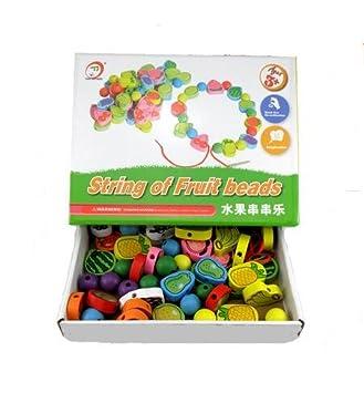 Amazon.com: Cadena de fruta Beads Puzzle Juguetes, Niños ...