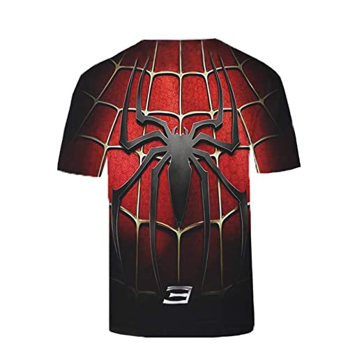JUFENG Camisa De Compresión para Hombre Impresora 3D Logotipo De ...