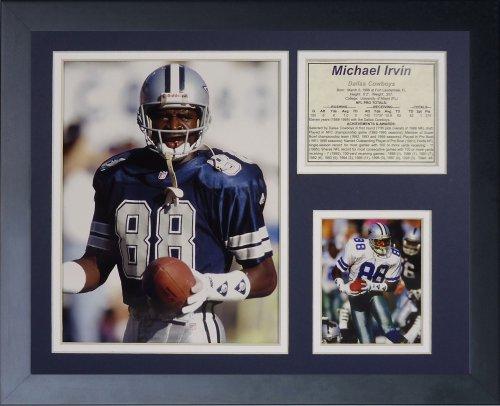 Michael Irvin Framed - Legends Never Die Michael Irvin Framed Photo Collage, 11x14-Inch