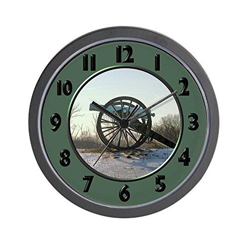 CafePress - Cannon in Winter Wall Clock - Unique Decorative 10