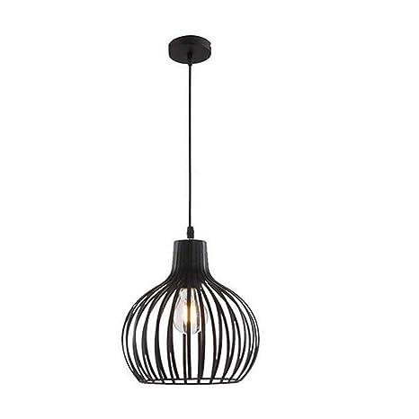 Led luces Edison Lightsmetal cesta jaula lámpara Sombra Vintage ...