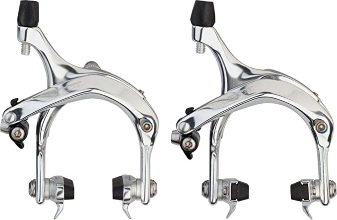 Cannondale Logo Silver Tektro R720 Road Brake Caliper 39-49mm Recessed Nut