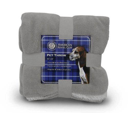 Dog Blanket (Gray) by American Kennel Club
