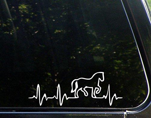 window horse decals - 3