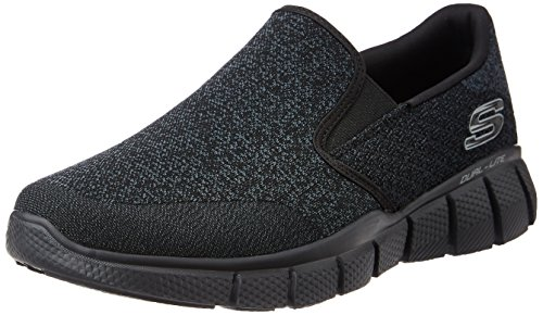 Skechers Sport Men's equalizer 2.0 Wide Slip-On Loafer,Black,13 4E US