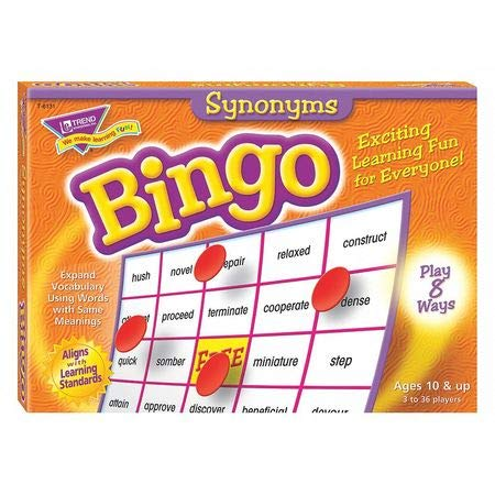 Synonyms Bingo Game ()