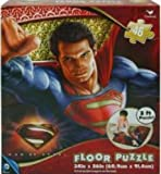 "Man of Steel Superman 46 Piece Floor Puzzle 24"" x 36"""