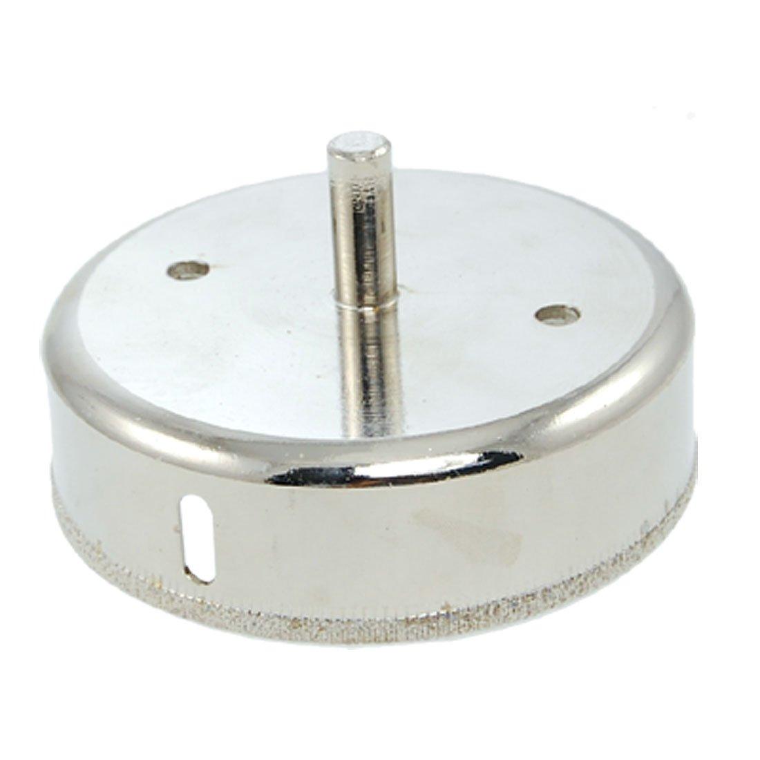 100 mm punta de diamante brocas para Metal sierra perforadora el/éctrica tono plateado para cristal