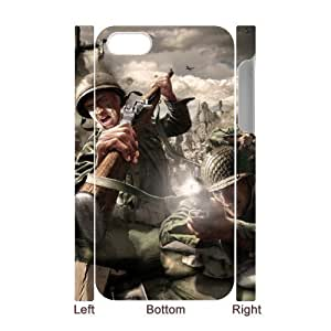 C-EUR Diy hard Case Call Of Duty customized 3D case For Iphone 4/4s