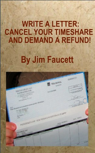 Amazon write a letter cancel your timeshare and demand a write a letter cancel your timeshare and demand a refund by faucett fandeluxe Image collections
