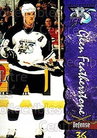 Amazon com: (CI) Glen Featherstone Hockey Card 1997-98