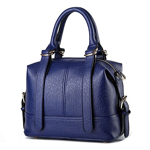 Gabbana Designer Belts (Hydne Women's Fashionable Belt Buckle Simple Sling Tote Bags Top Handle)
