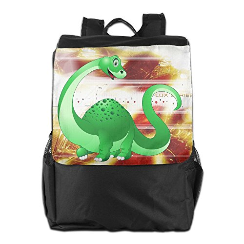 Dinosaur Cartoon PNG Clipart Image.png Outdoor Backpack Rucksack Office - Frame Png Double