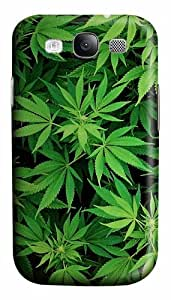 Weed Custom Polycarbonate Hard Case Cover for Samsung Galaxy S3 SIII I9300