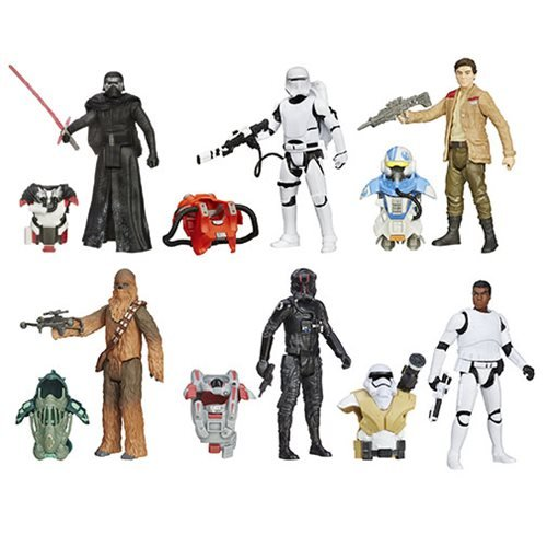 with Poe Dameron Action Figures design