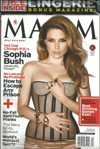 Maxim Magazine (Sophia Bush W/ Lingerie Bonus,April 2014)