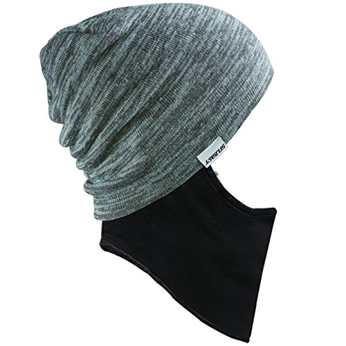 seirus-innovation-prodigy-quick-clava-cold-weather-beanie-head-hat-gray-one-size