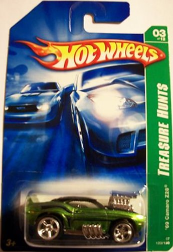 Hot Wheels $UPER Trea$ure Hunt$ 1969 Chevy Camaro z28 2007 issue ()
