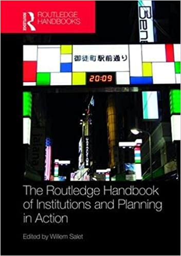 Afbeeldingsresultaat voor routledge handbook of institutions and planning in action