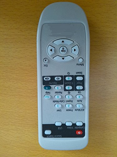 Brand New ELECTRON Top Quality General Universal Compatible Replacement Projector Remote Control Fit For EPSON H331A H331B H331C H325C H325B H328A 3LCD Projector by Electron