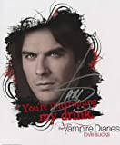 THE VAMPIRE DIARIES IAN SOMERHALDER AUTOGRAPH PHOTO #3