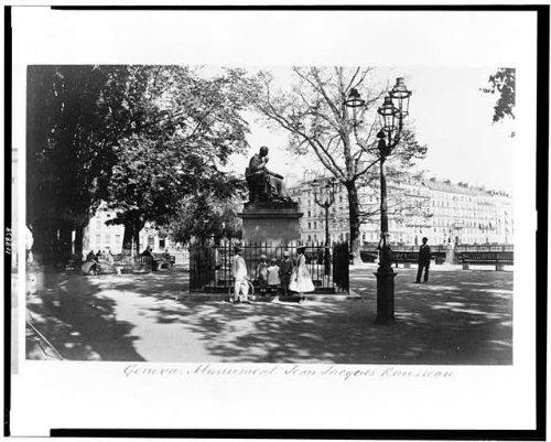(HistoricalFindings Photo: Geneva,Monument Jean Jacques)