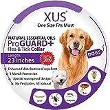 XUS DOG Flea Collar (1 size fits most) Kills Ticks Lice Mosquitoes Eggs