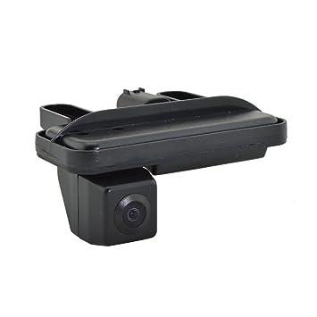 Sincero fácil instalar visión nocturna DIY tronco mango copia de seguridad cámara impermeable cámara de visión trasera para coche modelo: ls8008: Amazon.es: ...