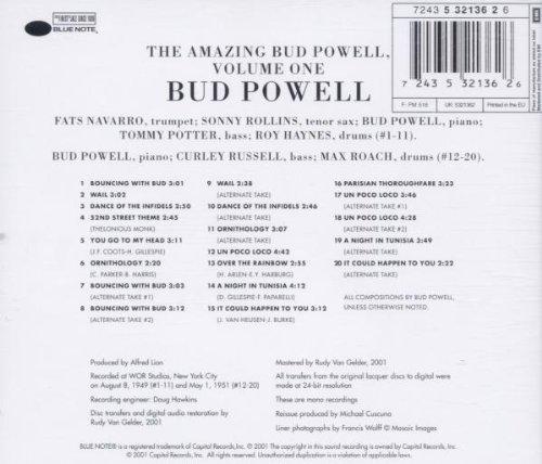 The Amazing Bud Powell, Vol. 1 (RVG Edition)
