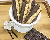 IRENES BAKERY Chocolate Dipped Vanilla Biscotti, 6 OZ