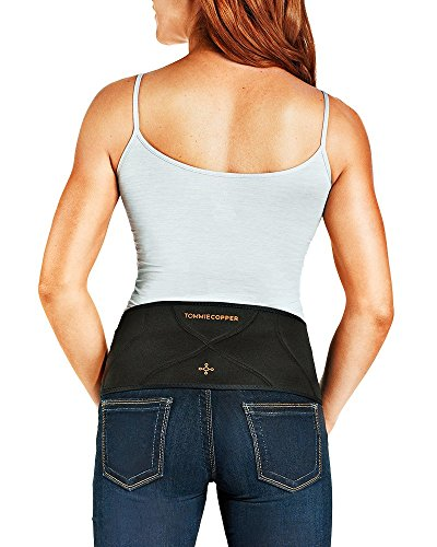 Tommie Copper Women's Back Brace, XX-Large/3X-Large, Black