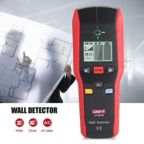 Professional Wall Scanner Digital Handheld Detector Finder Wood Metal AC Cable Electric Wire Detecting Tool by Fdit (Image #6)